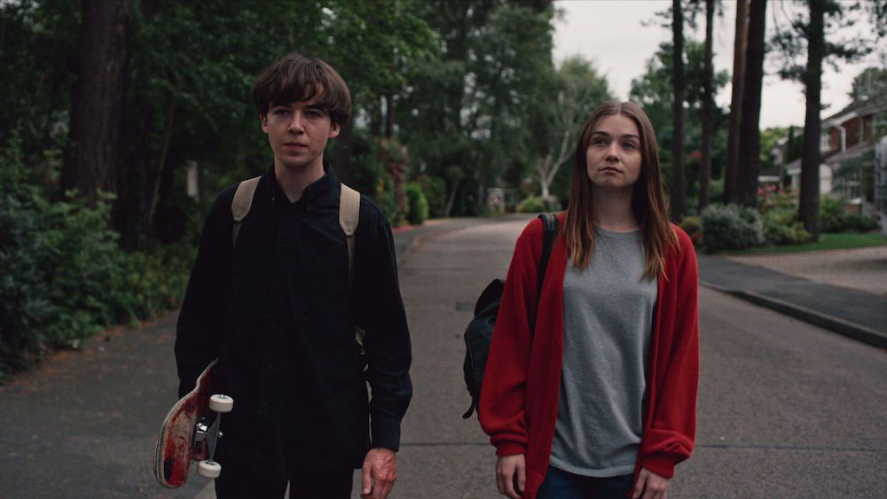 Znad krawędzi – recenzja serialu <i>The End of the F***ing World</i>