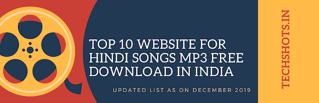 Top 10 Website for Hindi Songs Mp3 Free Download