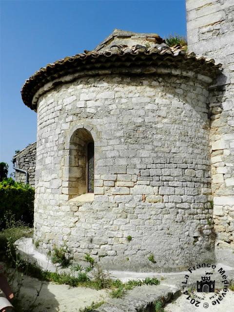 CLANSAYES (26) - Chapelle romane