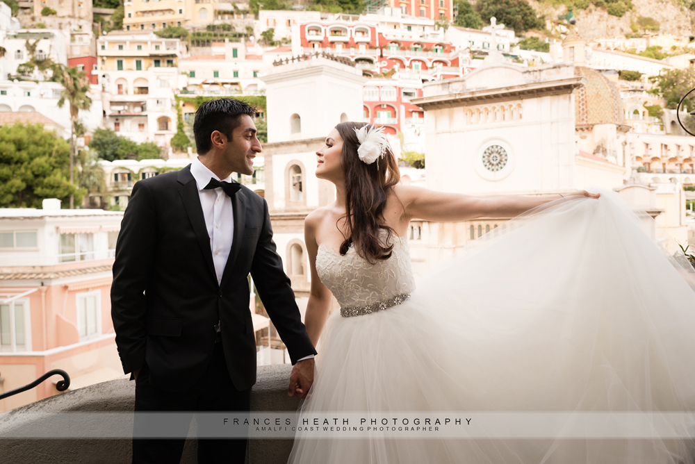 Positano elopement wedding