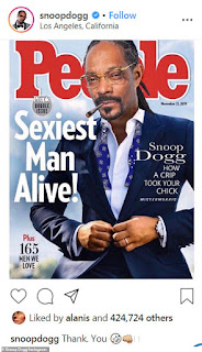 Snoop Dogg declares himself People's Sexiest Man Alive