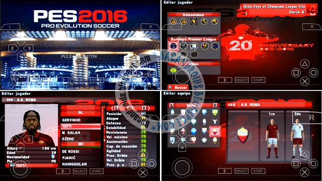Update PES 2016-2017 MX Fuxion Liga
