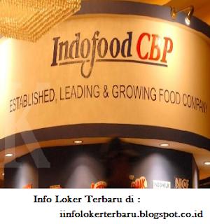Info Lowongan Kerja PT. Indofood CBP Sukses Makmur