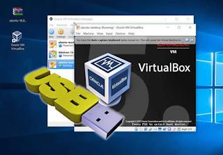 Cara Menggunakan Flashdisk di Sistem Operasi Virtualbox