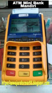 ATM Mini Mandiri Kini Hadir Di Toko Prast Jaya Desa Cindaga