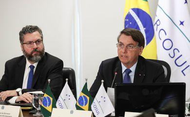 Bolsonaro: Mercosul é parte das soluções para recuperação pós-pandemia