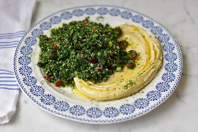 Tabbouleh Hummus Platter