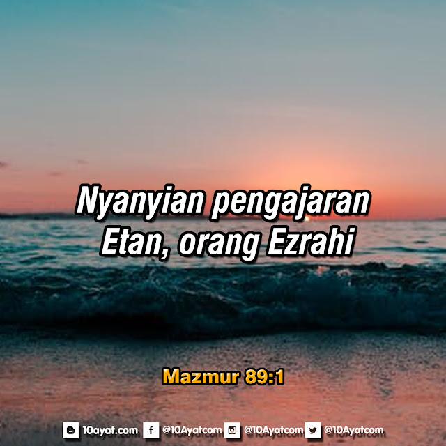 Mazmur 89:1