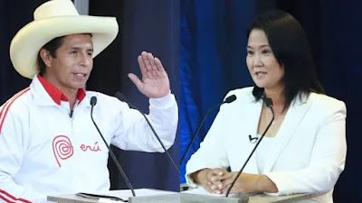 Segunda vuelta: Pedro Castillo 50.2%, Keiko Fujimori 49.8%, según conteo rápido al 100%