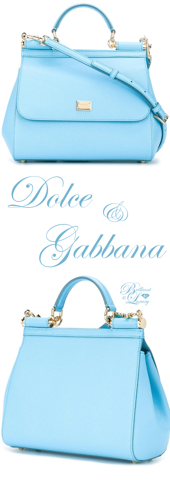 Brilliant Luxury ♦ Dolce & Gabbana Medium Sicily Tote
