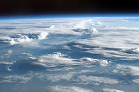 Clouds seen from the International Space Station