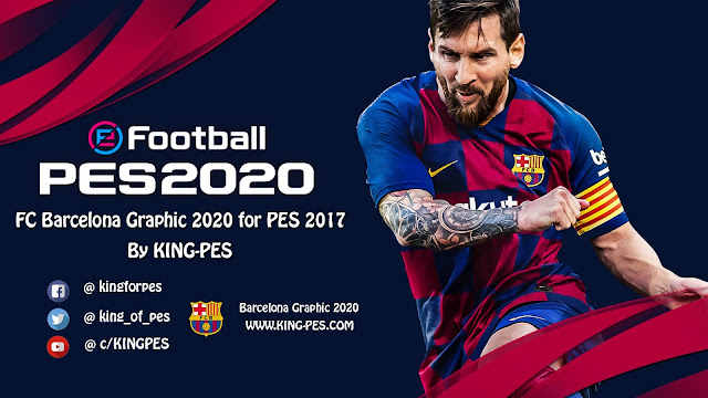 PES 2020 FC_Barcelona Graphic For PES 2017 By KING-PES