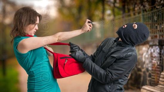 mulheres spray pimenta arma choque lei