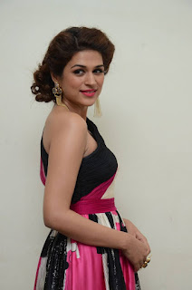 Actress Shraddha Das Latest Stills in Stylish Dress at tur Talkies Audio Launch 0005