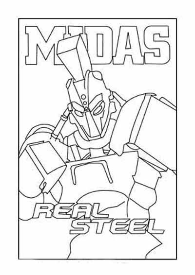 Free coloring pages of noisy boy steel