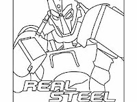 Zeus Real Steel Coloring Pages