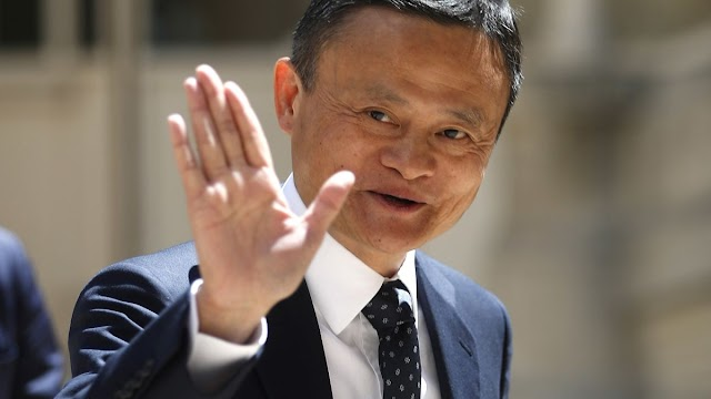Why did he come back and why did Jack Ma get lost?