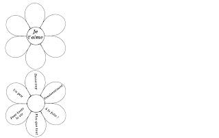 modele fleur à colorier imprimer carte cadeau enfant diy tuto maternelle fete pere mere