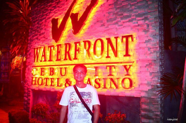 Waterfront Cebu City Hotel and Casino marker