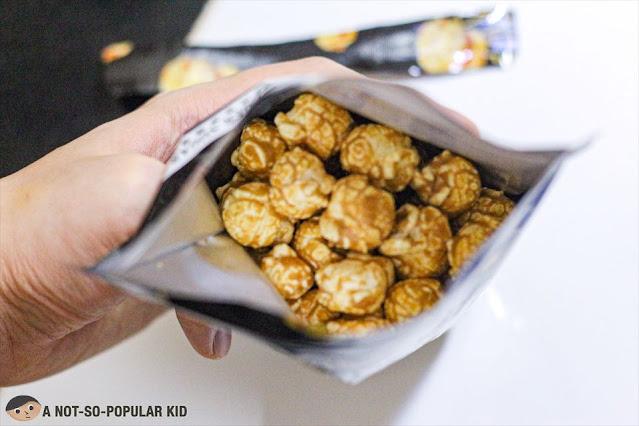 Tiger Sugar's New Product: Black Sugar Popcorn