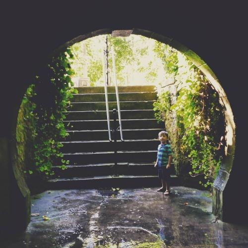 Grotto Spring in Eureka Springs, AR