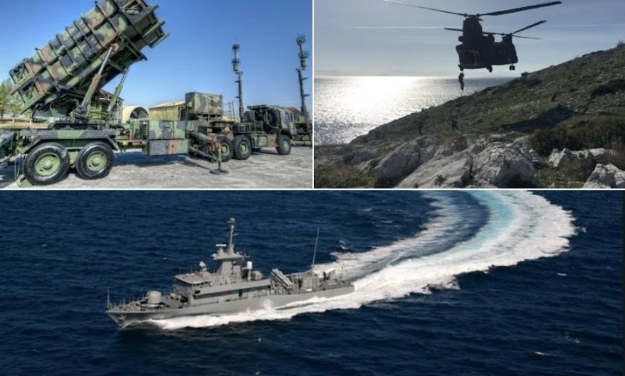 Εντολή για κόκκινο συναγερμό σε όλα τα ελληνικά οπλικά συστήματα