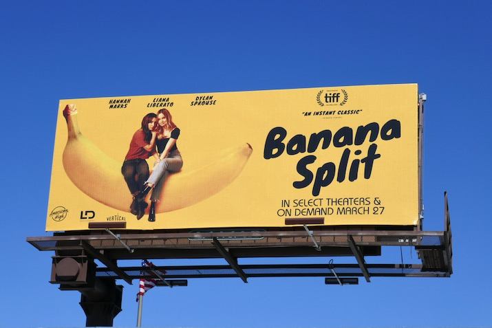 Banana Split movie billboard
