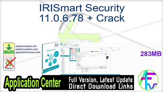 IRISmart Security 11.0.6.78 + Crack