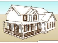 Video Tutorial Membuat Rumah Pada Google Sketchup