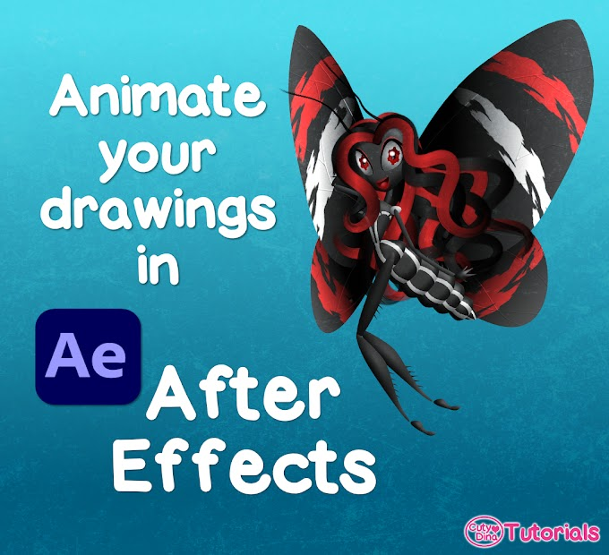 Animate your drawings in AfterEffects