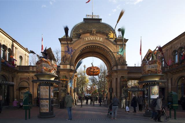parque Tivoli - Copenhagen (Dinamarca)