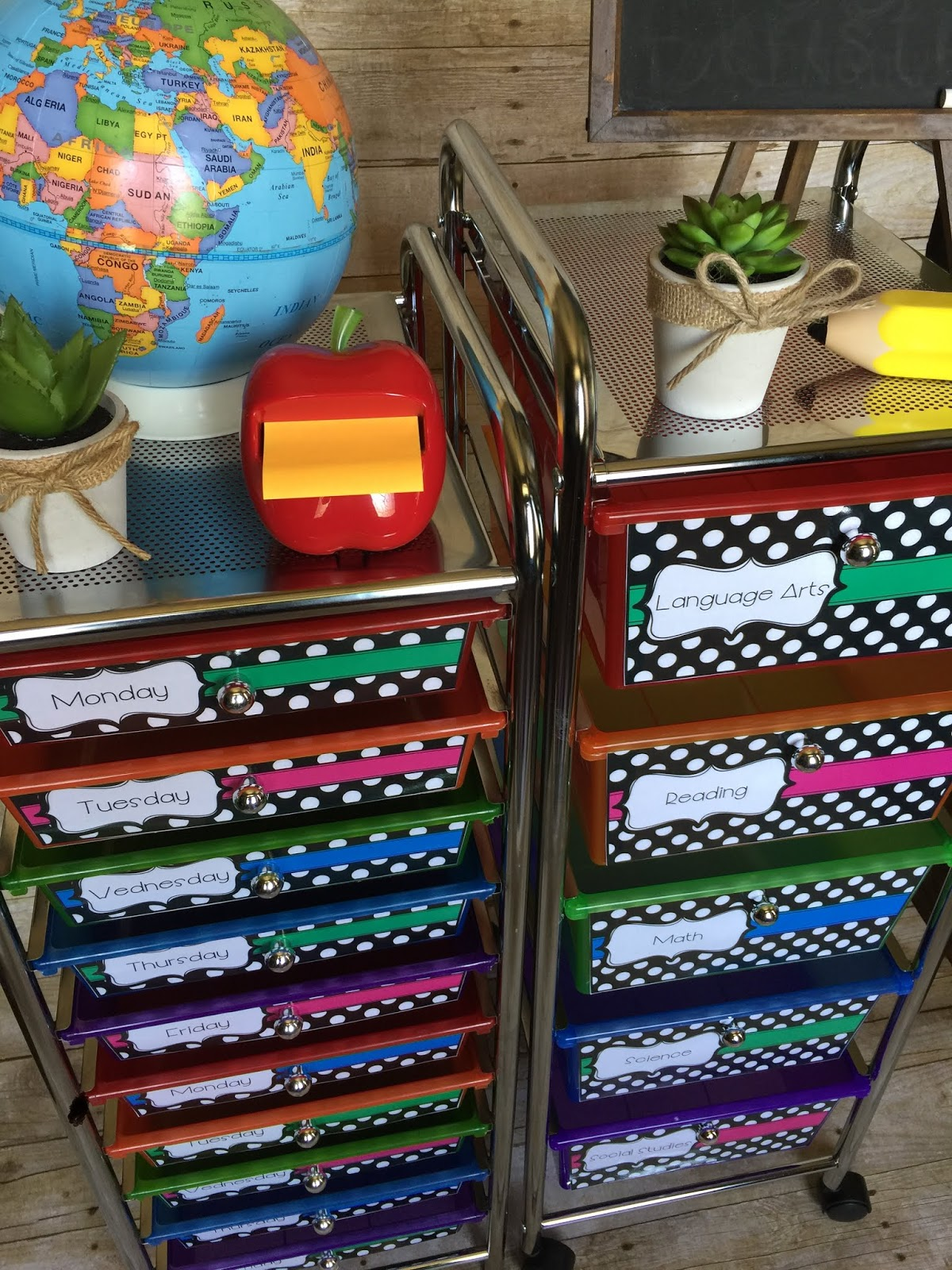 Teaching With Terhune Classroom Organization Storage