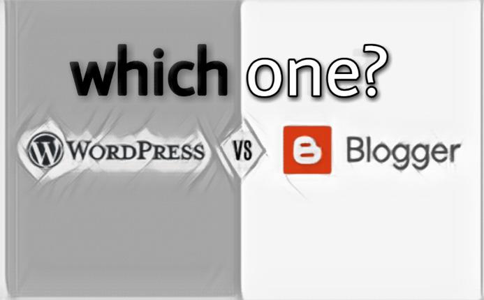 Which,platform,beginners,Blogger,Wordpress?