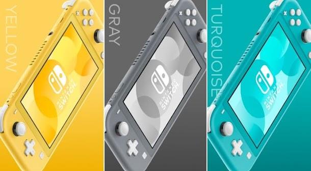 Nintendo Switch Lite Resmi Dirilis dengan Harga Lebih Murah