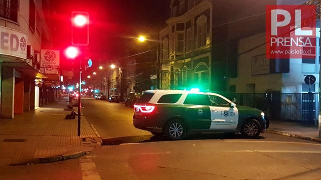Osorno: tránsito suspendido en calle O´Higgins