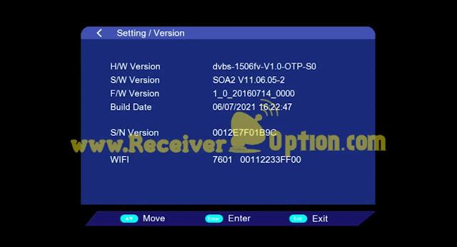 VANSTAR V8 PRO 1506FV 512 4M NEW SOFTWARE 06 JULY 2021