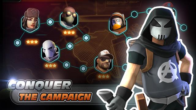 Alpha Squad 5: RPG & PvP Online Battle Arena v2.2.1 MOD Update
