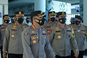 Sosialisasi Pelarangan Mudik, Kapolda Banten dan Jajaran Tinjau Kesiapan Pelayanan di ASDP Merak