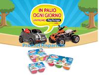 Logo Fruttolo ''Metti in moto il divertimento'': vinci 171 auto quad elettrici Peg-Perego