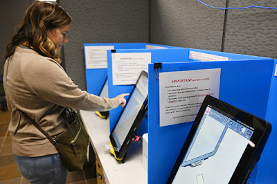How to Vote on an Electronic Voting Machine