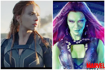 Gamora and Natasha