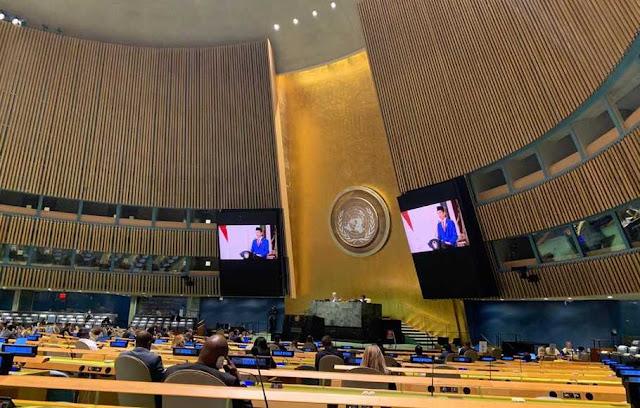 Kritisi Pidato Jokowi di PBB, Andi Arief: Kalau Kita Sedang Susah, Jelaskan Saja