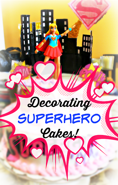 Super Tutorial How To Decorate A Super Hero Birthday Cake New Mommy Bliss Birthday Cards Printable Riciscafe Filternl