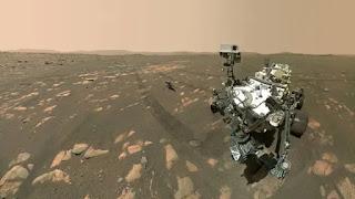 Nasa's Perseverance rover captured the historic selfie explains by  Vandi Verma