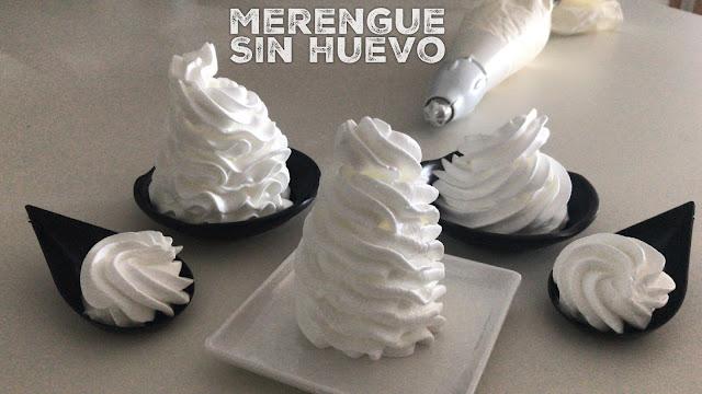 receta de merengue vegano sin huevo con agua de garbanzos