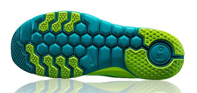 【運動手札】Nike Free 系列跑鞋心得 - Nike Free 蜂巢鞋底