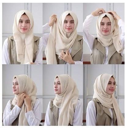 Kumpulan Tutorial Hijab Modern Simple Dan Mudah Untuk Gaya Terbaru