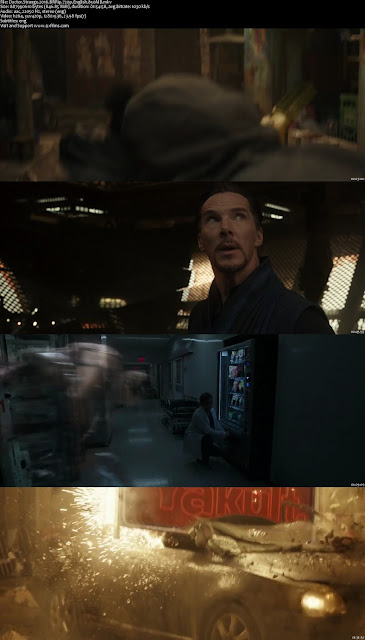 Doctor Strange 2016 BRRip 720p English