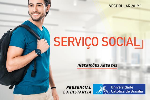Universidade Católica oferece curso de Serviço Social no campus Ceilândia