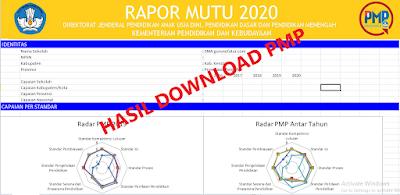 Cara Download dan Cetak Nilai Rapot Mutu (PMP) Sekolah Secara Online Tahun 2020